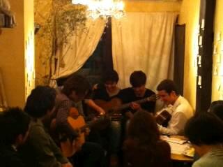 マヌーシュ・ジャズ・セッション・パーティーinホメリありがとうございました!